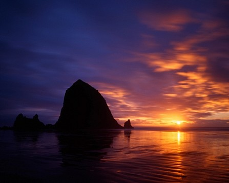 Sunset- Cannon Beach, Oregon